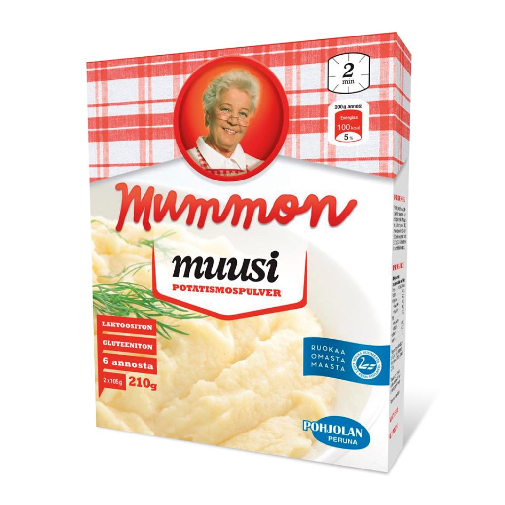 Mummon Instant Mashed Potato 210g
