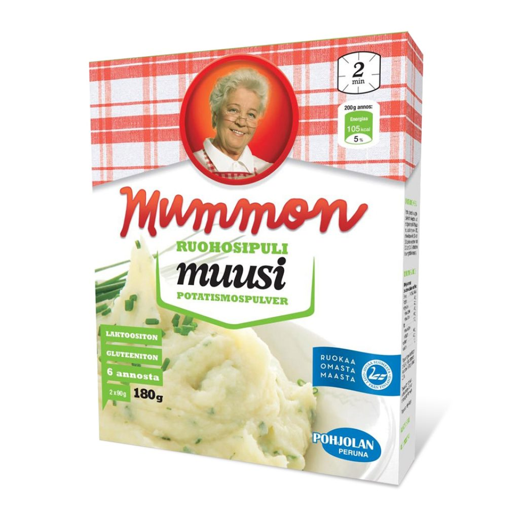 Mummon Instant Mashed Potato with Chive 180g