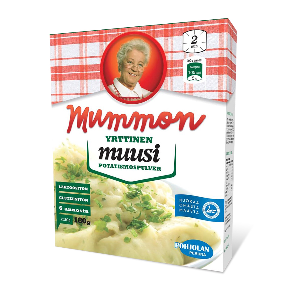 Mummon yrttinen muusi 180g