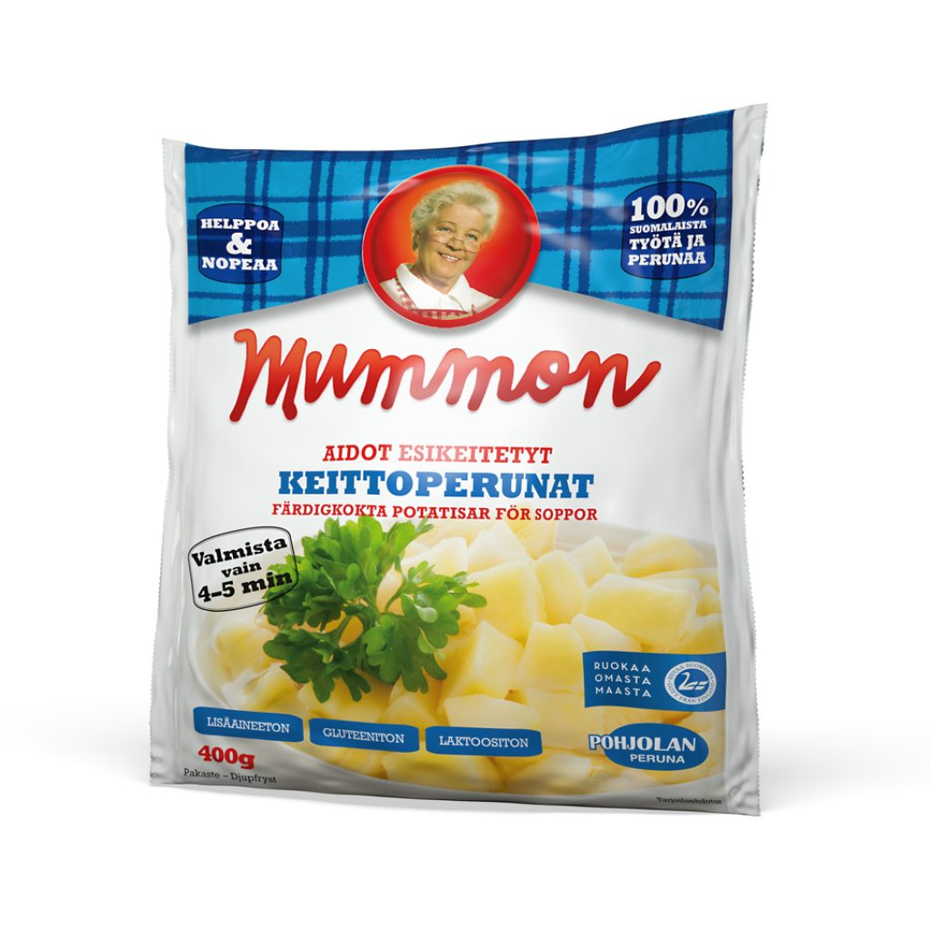 Mummon Potatocubes Fresh & pre-cooked 400g