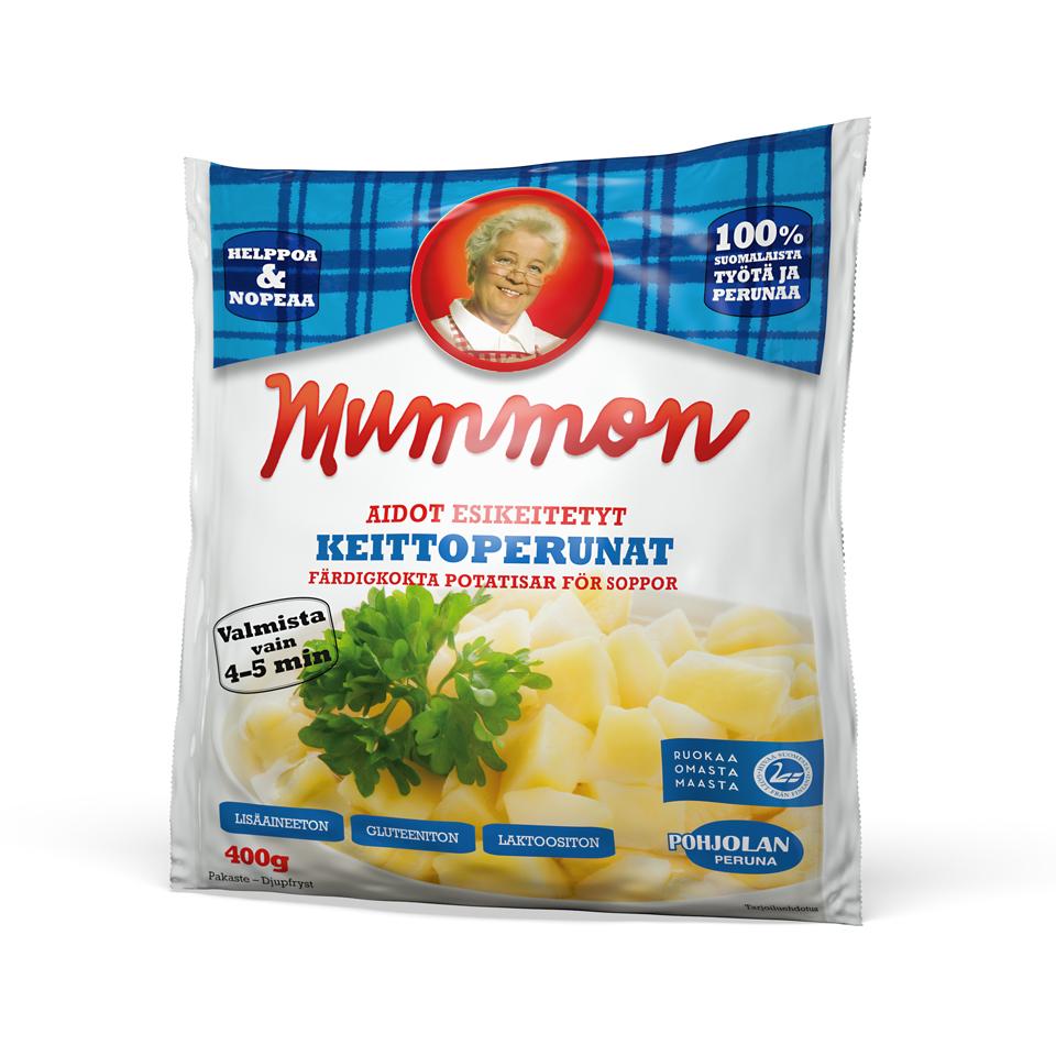 Mummon hetivalmiit Keittoperunat 400g