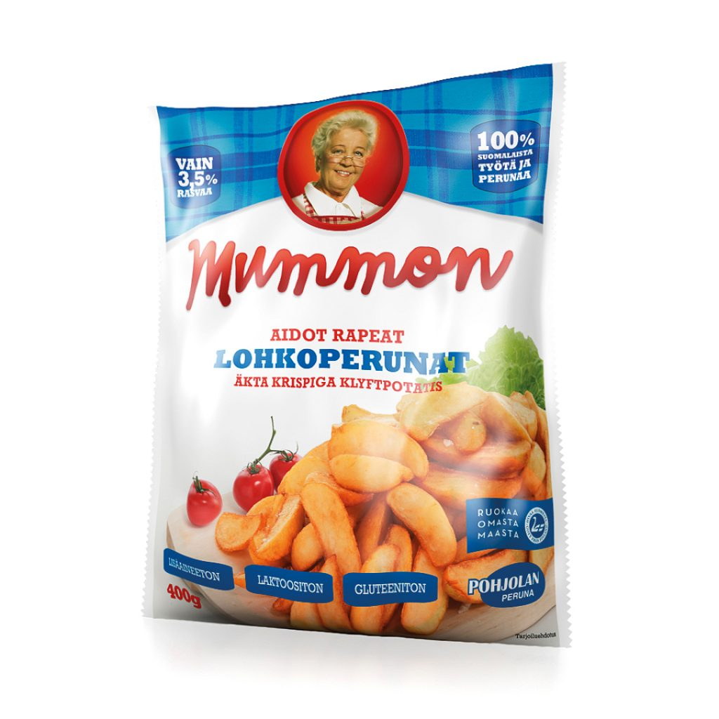 Mummon Classic & Crispy Potato Wedges 400g