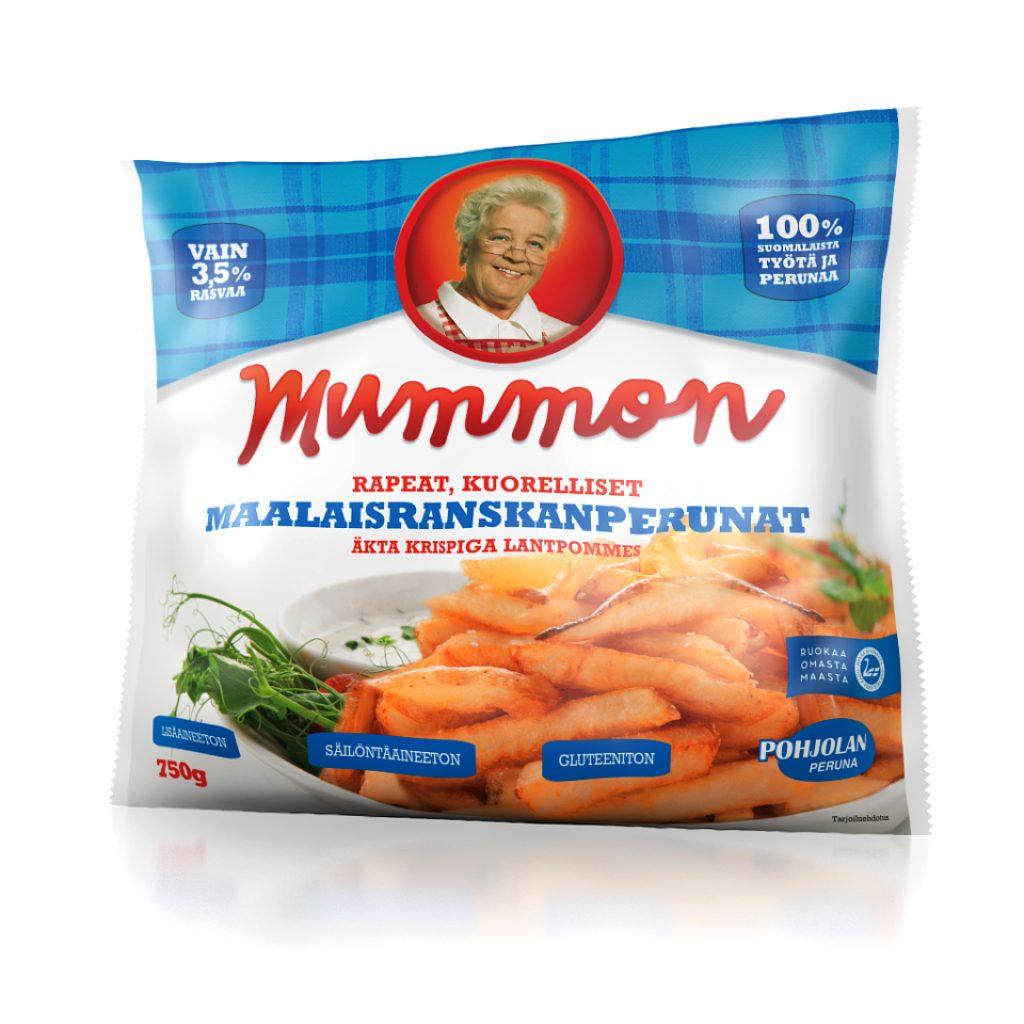 Mummon aidot rapeat Maalaisranskanperunat 750g