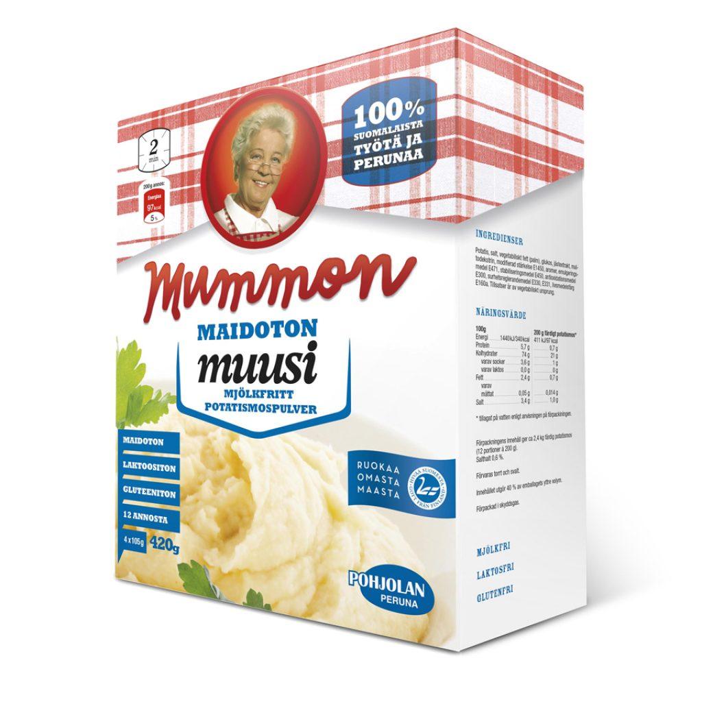 Mummon Instant Mashed Potato 420g Milkless