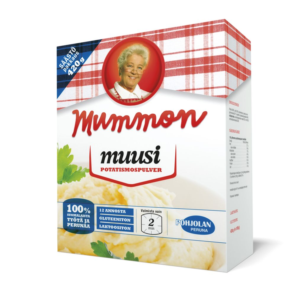 Mummon Instant Mashed Potato 420g Big size