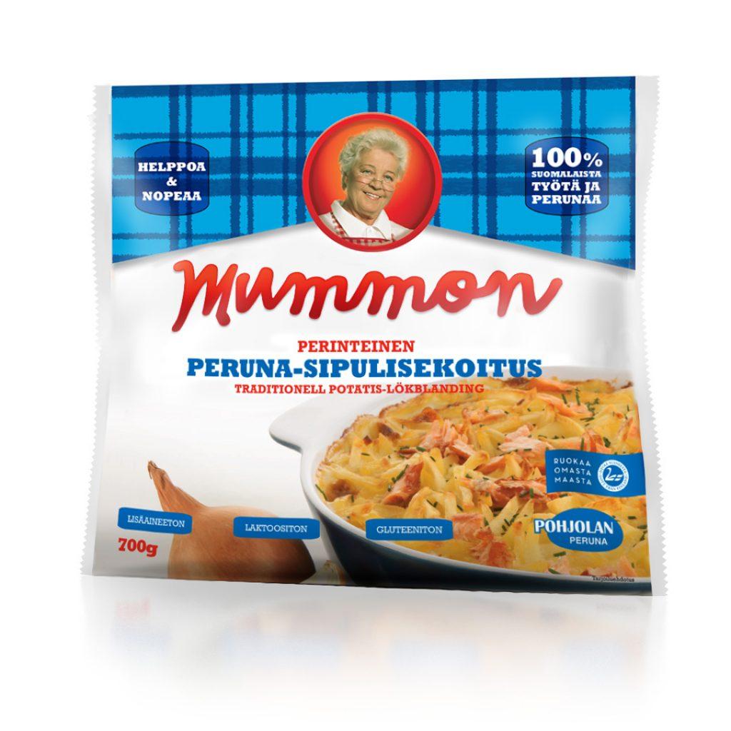 Mummon perinteinen peruna-sipulisekoitus 700g