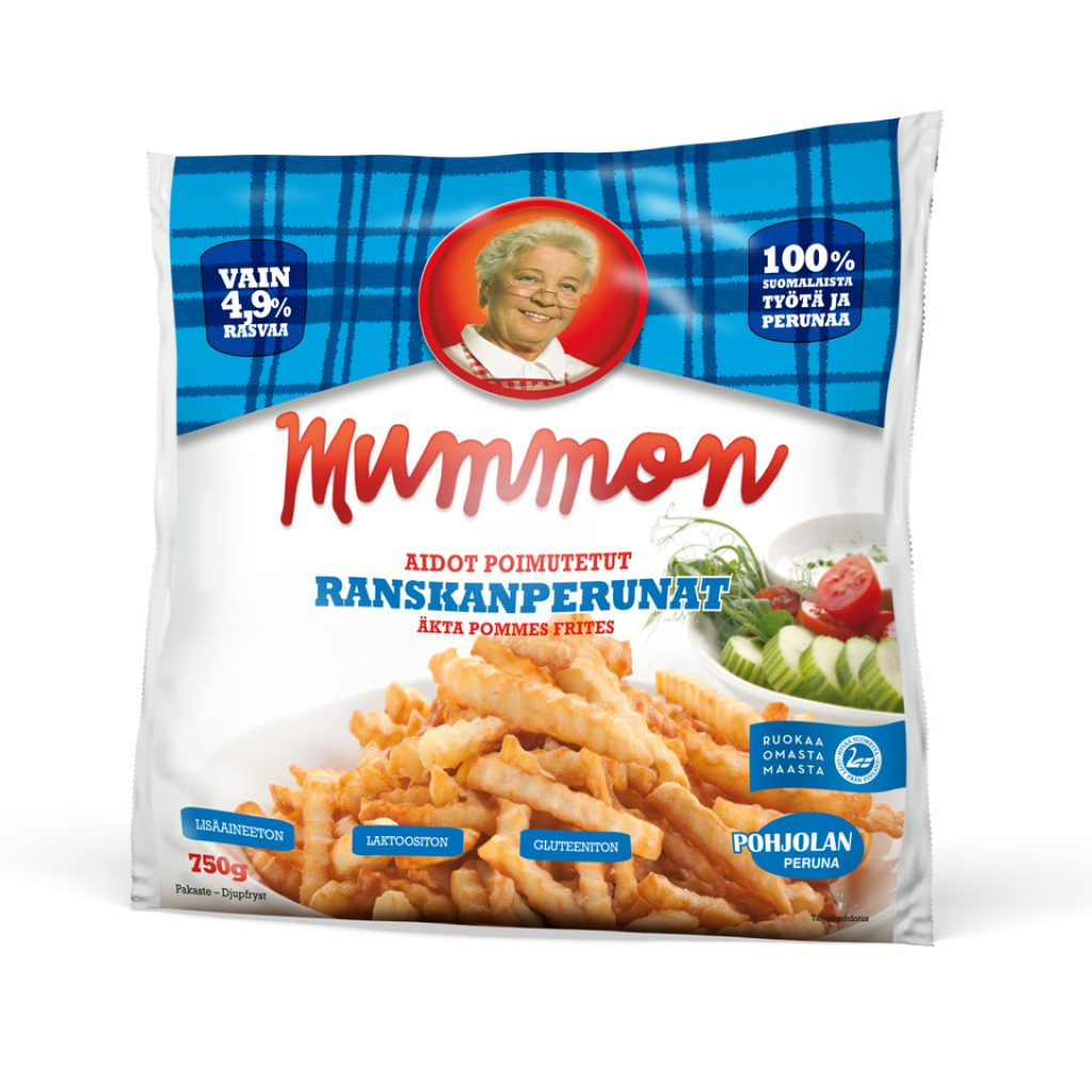 Mummon Classic French Fries 750g Crinkle Cut