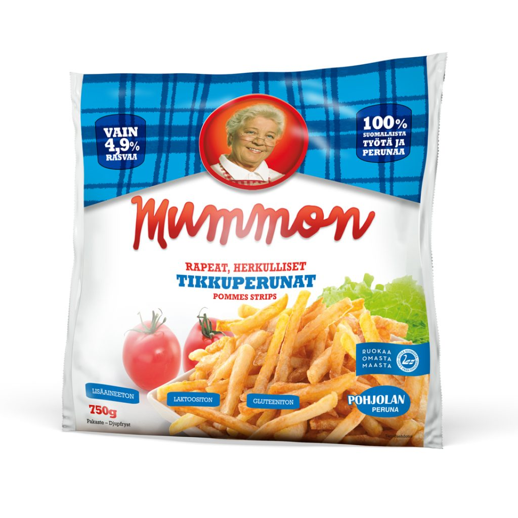Mummon Crispy, French Fries thin, straight cut 750g