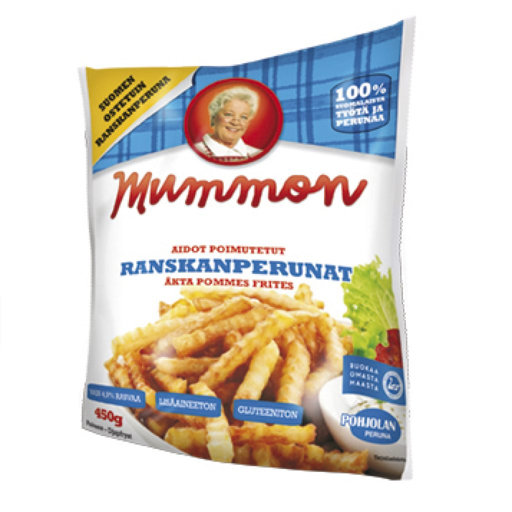 Mummon Classic French Fries 450g Crinkle Cut