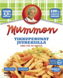 Suomalaisia juureksia ja Mummon tikkuperunat samassa pussissa. Lempeää lanttua, pirteää porkkanaa ja parasta suomalaista perunaa. Sopii syötäväksi sellaisenaan, dippailtavaksi tai pääruoan lämpimäksi lisukkeeksi. Hetkessä herkullista ja terveellistä ruokaa.