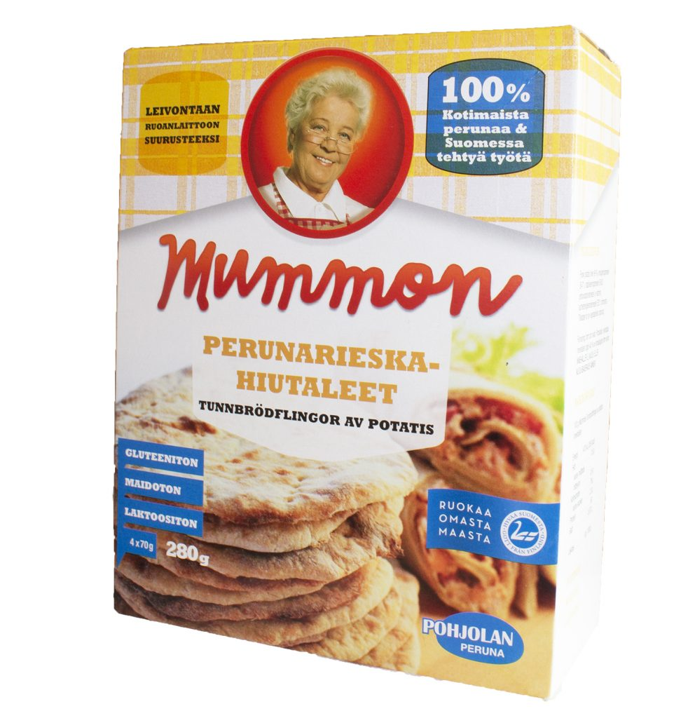 Mummon Bakingflakes for Potato Flat Bread 280g