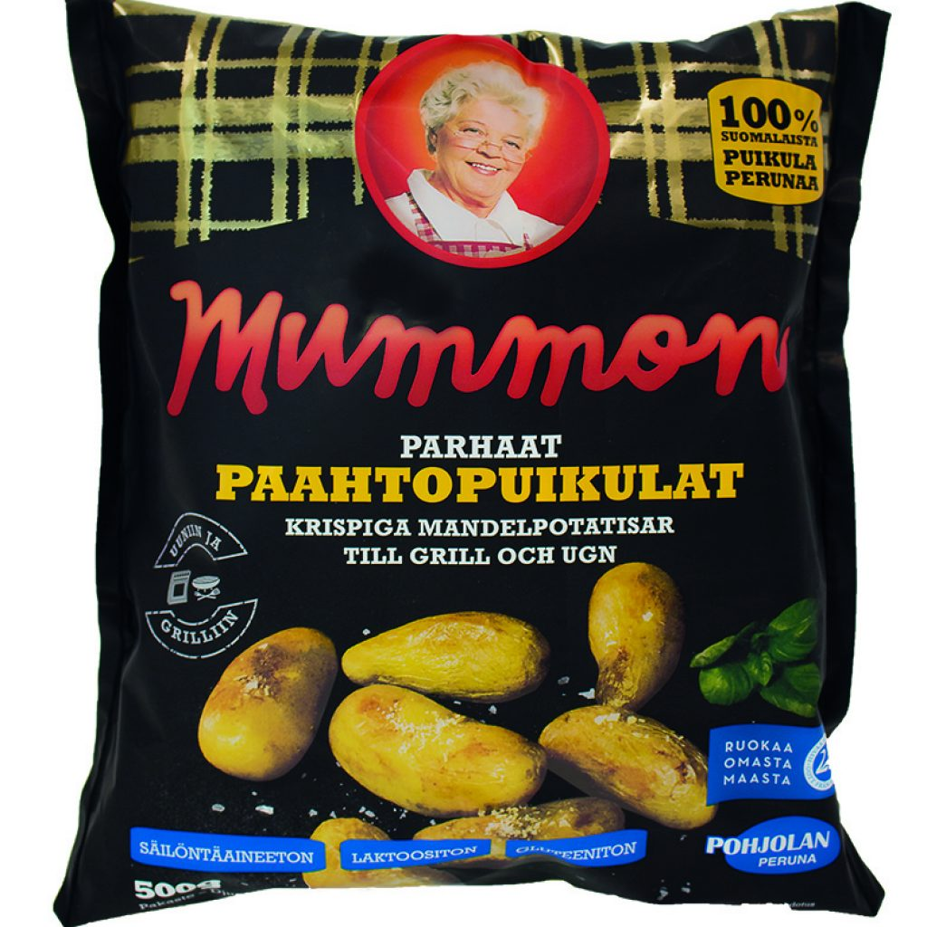 Mummon Puikula wholepotato skin on 500g