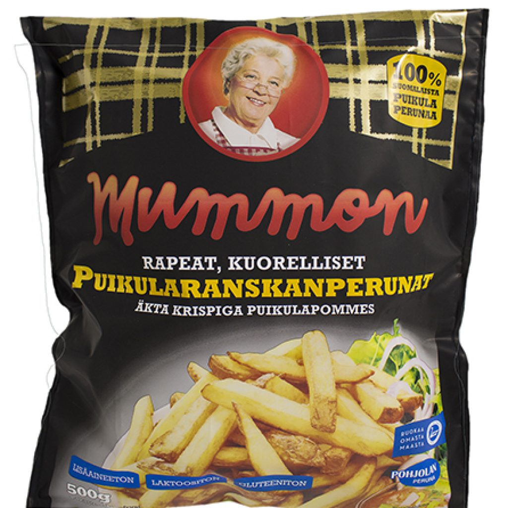 Mummon Puikula Rustic & Crispy French Fries skin on 500g