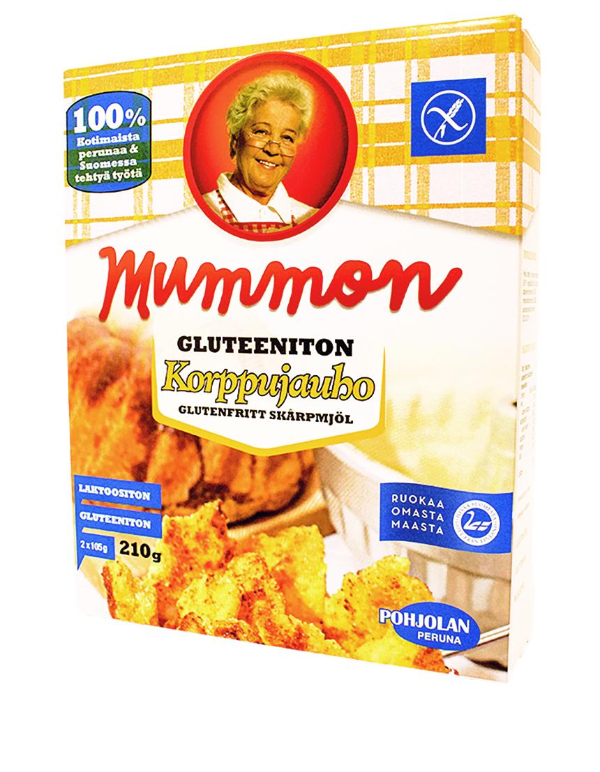 UUSI! Mummon gluteeniton Korppujauho 210 g