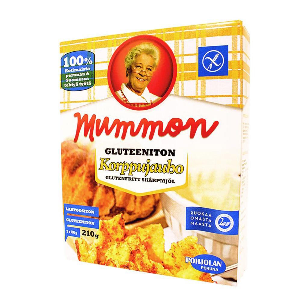 Mummon gluteeniton Korppujauho 210 g 2 x 105g