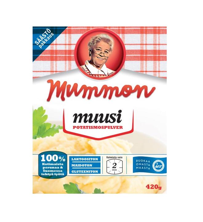 Mummon muusi 420 g (4 x 105 g)